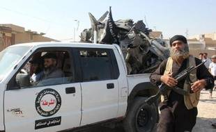 Un jihadiste le 16 septembre 2014 à Raqa