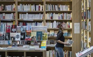 Illustration d'une librairie