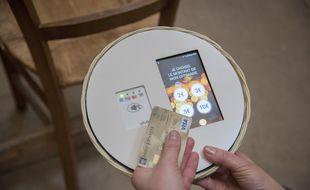 Désormais pour la quête, les fidèles peuvent faire un don en carte bancaire.