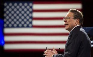 La patron du lobby pro-armes, Wayne LaPierre, est accusé par l'Etat de New York de fraude financière