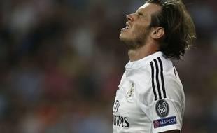 Gareth Bale lors de Real-Juventus le 13 mai 2015.