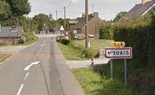 L'entrée de la commune de Mouais