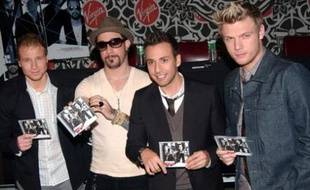 Les Backstreet Boys en octobre 2007.