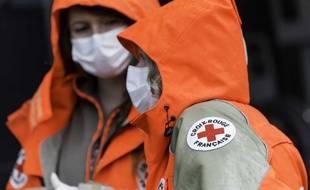 Des bénévoles de la Croix Rouge. ici, à Rennes.