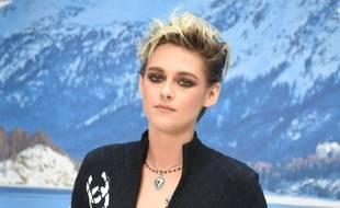 L'actrice Kristen Stewart au défilé Chanel à Paris