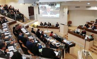 L'assemblée du conseil départemental de Loire-Atlantique