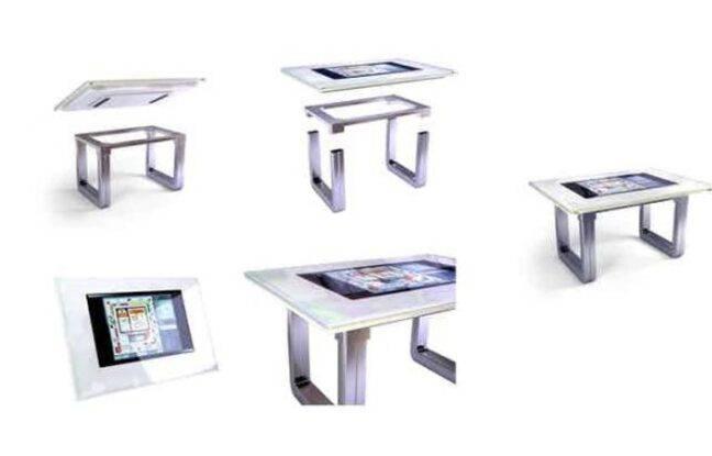 Une table de salon tactile, pour les amoureux de jeux de société