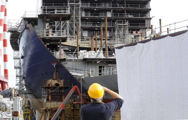 Saint-Nazaire: Les chantiers navals STX reprennent leur nom historique