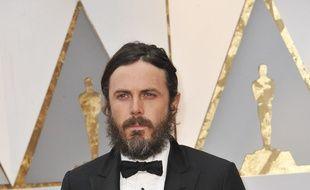 L'acteur Casey Affleck aux Oscars 2017.