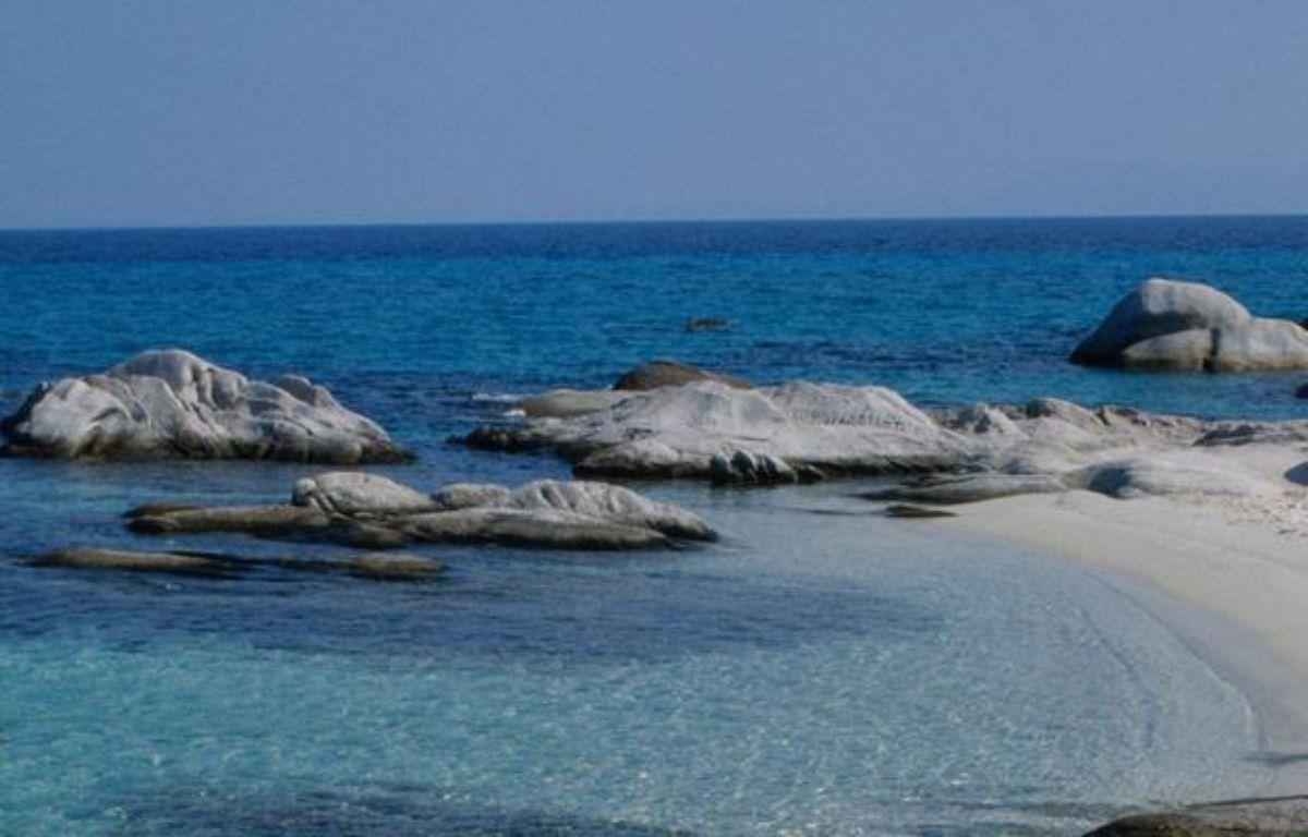 La plage d'une île grecque. – SUPERSTOCK/SUPERSTOCK/SIPA
