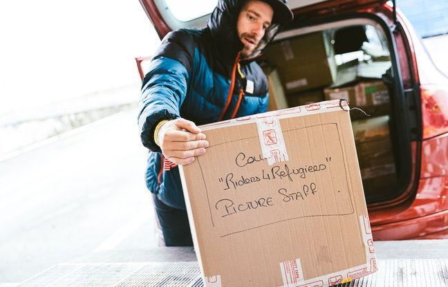 Le grand tri de Riders for refugees s'effectuera le 17 novembre à Annecy.