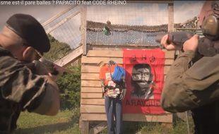 La vidéo du youtubeur d'extrême droite mettait en scène l'exécution d'un militant de Jean-Luc Mélenchon.