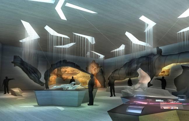 Le futur espace numérique de Lascaux IV.