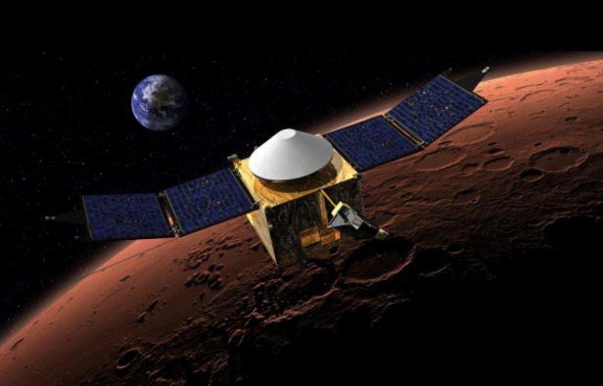 La sonde Maven de la Nasa va analyser l'atmosphère martienne à partir de septembre 2014. – NASA/Goddard