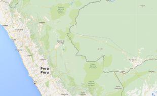 La ville d'Iquitos au Pérou.