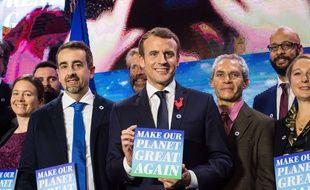 Emmanuel Macron le 11 décembre 2017 à Paris.