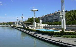 La piscine du Rhônex