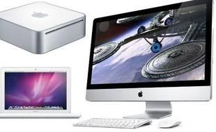 Apple a présenté sa nouvelle gamme d'ordinateurs grand public le 20 octobre 2009