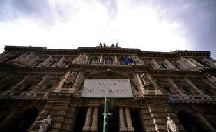 Vue générale de la Cour Suprême italienne à Rome, le 27 mars 2015