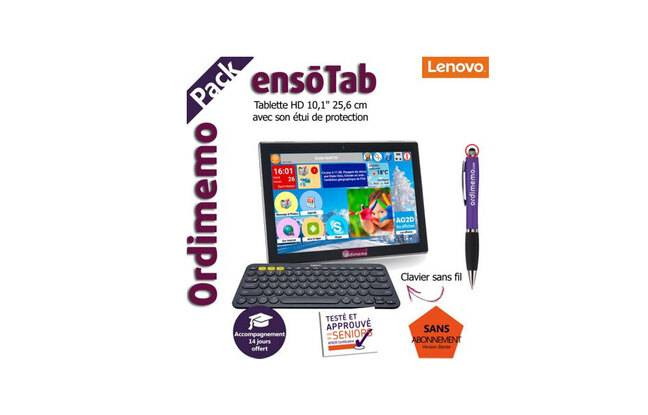 Tablette tactile pour senior ORDIMEMO ENSOTAB 2-32