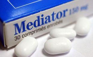 Une boîte de Mediator, médicament retiré de la vente en novembre 2009 et soupçonné d'avoir causé au moins 500 morts en France.