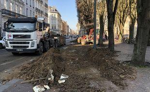 Du fumier déversé devant la préfecture du Nord à Lille.