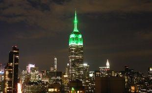 L'Empire State building a fêter l'Aïd à sa manière.