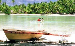 """A Kiribati, """"nous ne parlons pas de croissance économique ou de niveau de vie. Nous parlons de notre survie"""", ajoute le président de l'archipel."""