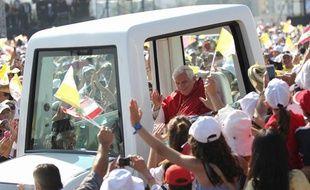 Le pape Benoît XVI, en viste au Liban, le 16 septembre 2012.