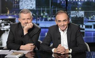 Eric Naulleau et Eric Zemmour sur Paris Première.