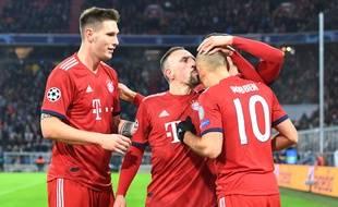 Robben et Ribéry se sont distingués face au Benfica.