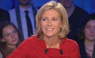 Claire Chazal sur le plateau «On est pas couché» ce samedi 4 novembre 2017.