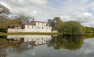 La terrasse du pavillon Guerlain offrira un panorama exceptionnel sur la zone humide.