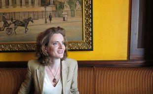 Paris, le 3 juillet 2014, Nathalie Kosciusko-Morizet, prÈsidente du groupe UMP au Conseil de Paris,  fait le point sur les 100 premiers jours de la mandature d'Anne Hidalgo.