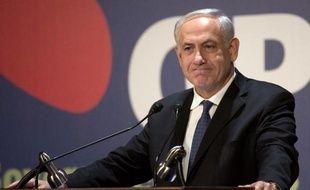 Le Premier ministre israélien Benjamin Netanyahu a dénoncé jeudi les condamnations par l'Union européenne de la colonisation, et insisté à nouveau sur la reconnaissance d'Israël comme Etat juif pour conclure un accord de paix avec les Palestiniens.