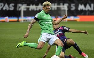 Kévin Malcuit, ici lors d'une rencontre de Ligue 1 face à Bordeaux, le 5 mai.