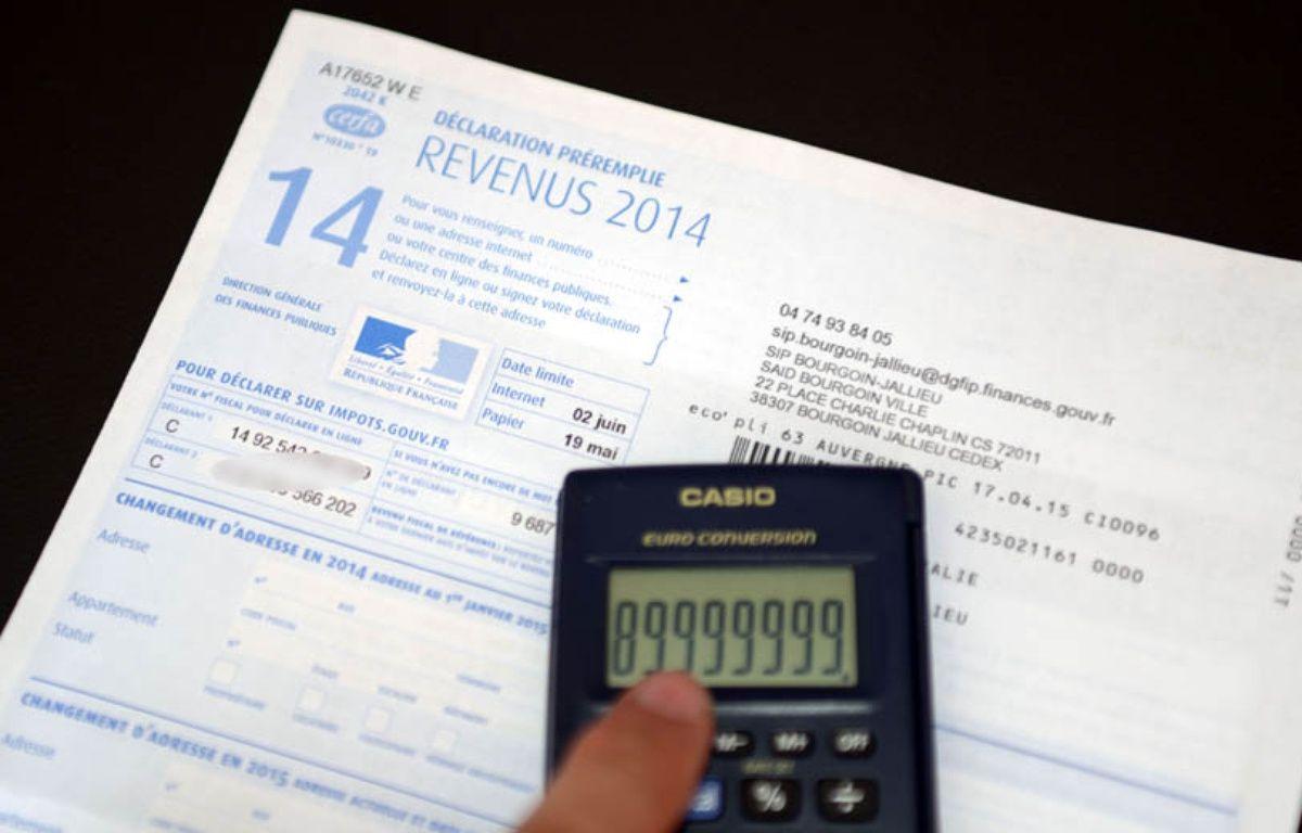 Impôt sur le revenu, illustration. – ALLILI MOURAD/SIPA