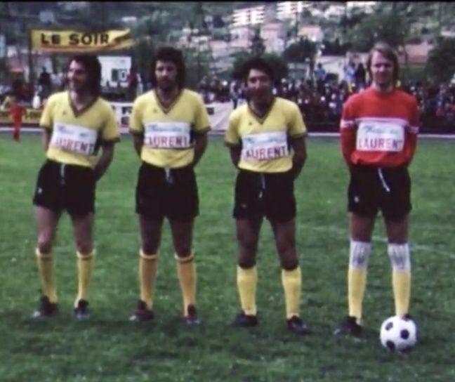 Yvon Berland (à droite) a été gardien de l'EUGA Ardziv dans les années 1970.