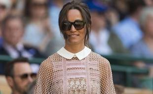 Pippa Middleton au All England Lawn Tennis Club à Londres.