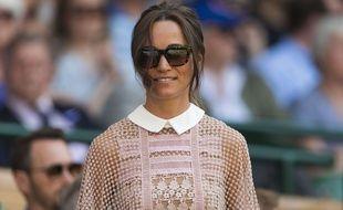 Pippa Middleton au All England Lawn Tennis Club à Londres.