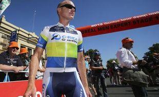 Stuart O'Grady en Australie en janvier 2013.