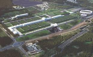 Le projet de centre d'entraînement du PSG doit voir le jour en 2021 sur la commune de Poissy.