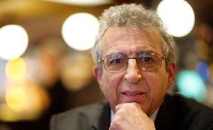 Jean Baubérot, historien et sociologue, le 13 février 2012 à Paris.