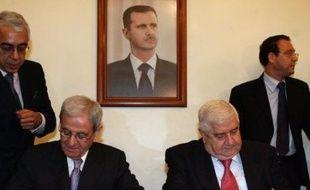 La Syrie et le Liban ont établi des relations diplomatiques mercredi, pour la première fois depuis la proclamation de leur indépendance, il y a plus de 60 ans, selon un communiqué commun signé à Damas.