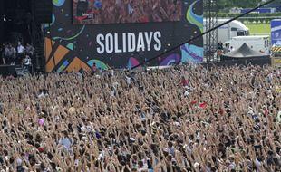 Le Festival Solidays avant le Covid-19 en 2019
