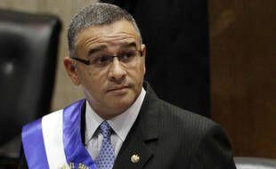 L'ancien président du Salvador, Mauricio Funes, alors en fonction en 2012.