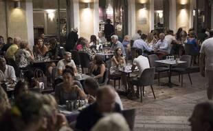 Un restaurant à Marseille