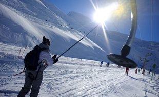La station de ski de Cauterets, dans les Hautes-Pyrénées, le 2 janvier 2013.