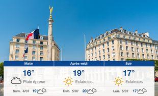 Météo Caen: Prévisions du vendredi 3 juillet 2020