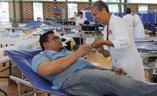 Depuis 2009, l'Etablissement français du sang organise Tout Rennes Donne.